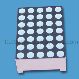 0,7 Zoll 5x7 LED Dot Matrix